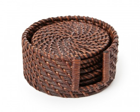 Lexington rattan glassbrikker 6 pk.